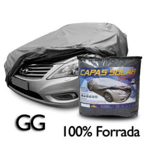 Capa para cobrir carro 100% Forrada Especial – Tamanho GG