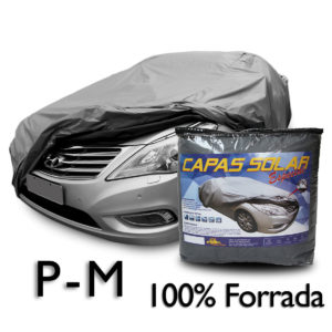 Capa para cobrir carro 100% Forrada Especial – Tamanho P ou M