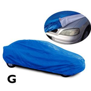 Capa Azul para cobrir carro com Forro Especial – G