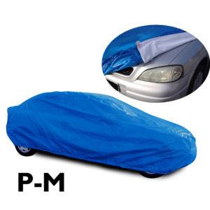 Capa Azul para cobrir carro com Forro Especial – P ou M